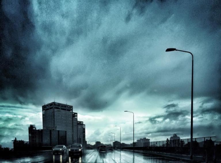 Pioggia a Milano